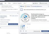 19 Facebook Status Update Kundenreferenz mit Grafik
