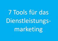 58 7 Tools für das B2B-Dienstleistungsmarketing