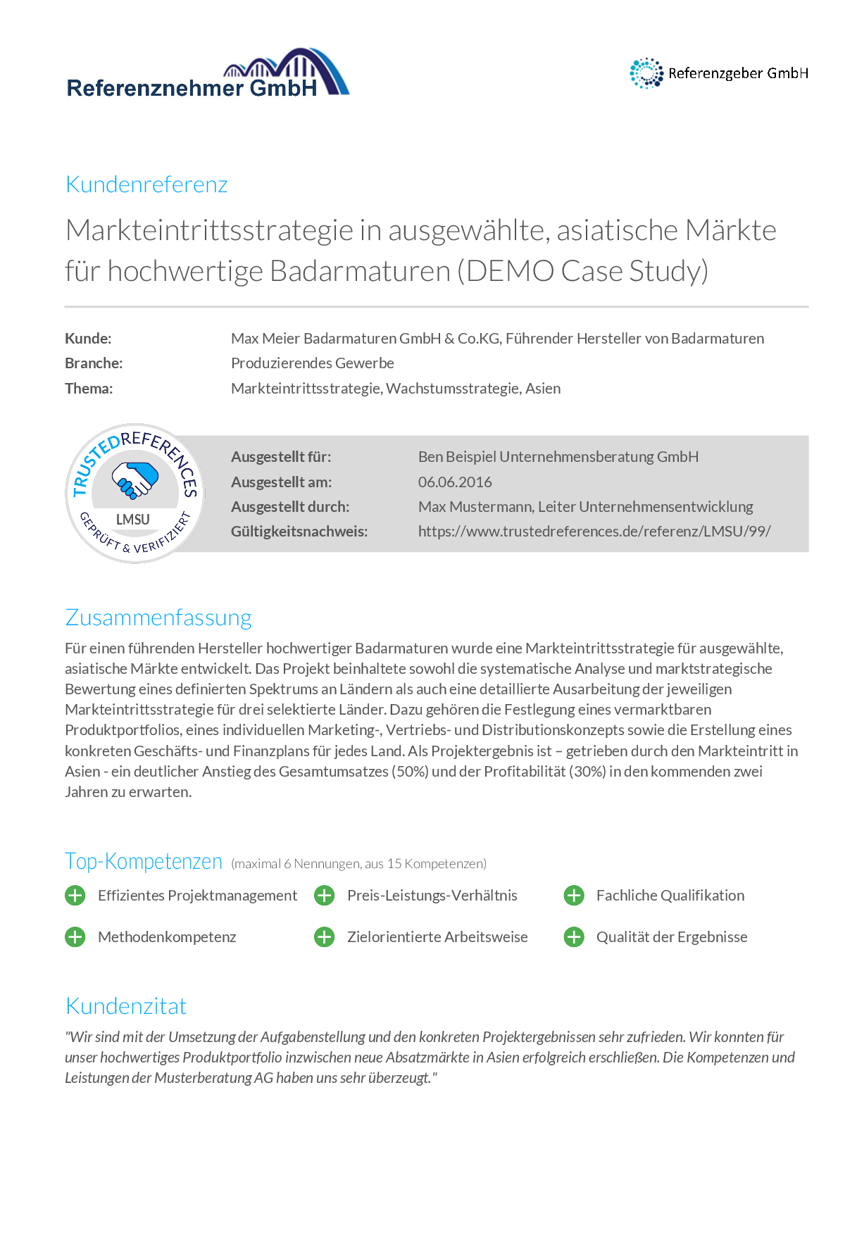 4 Case Study_B2B_Content_Marketing_Referenzmarketing_Trusted_References 1