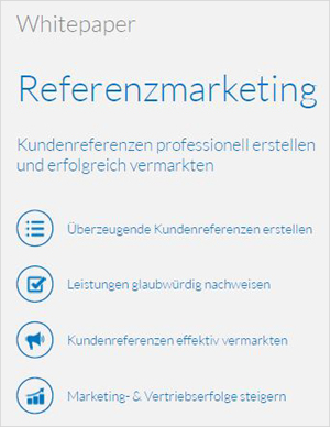 Trusted References - Whitepaper Referenzmarketing