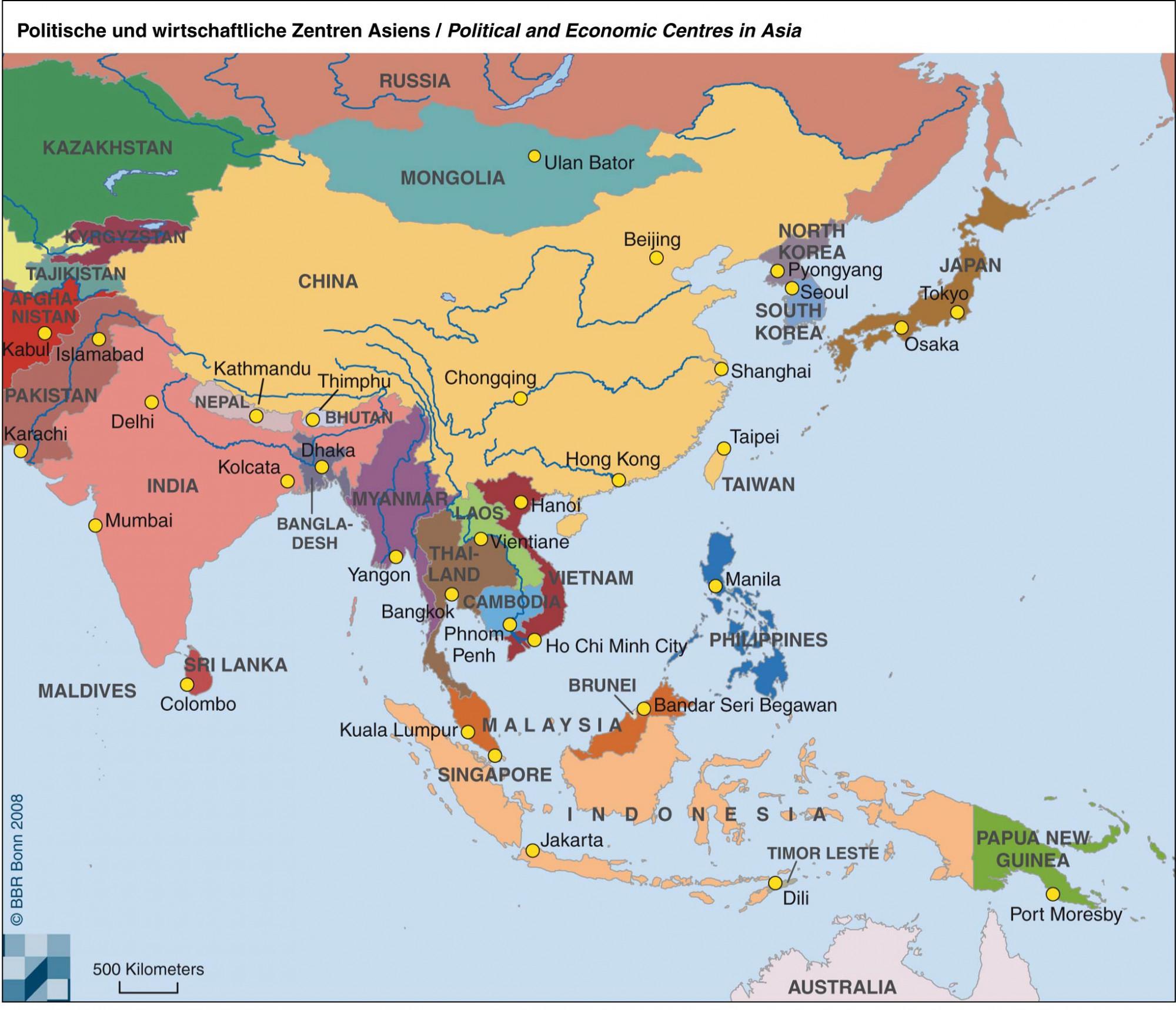 Erschließung neuer Absatzmärkte in Asien