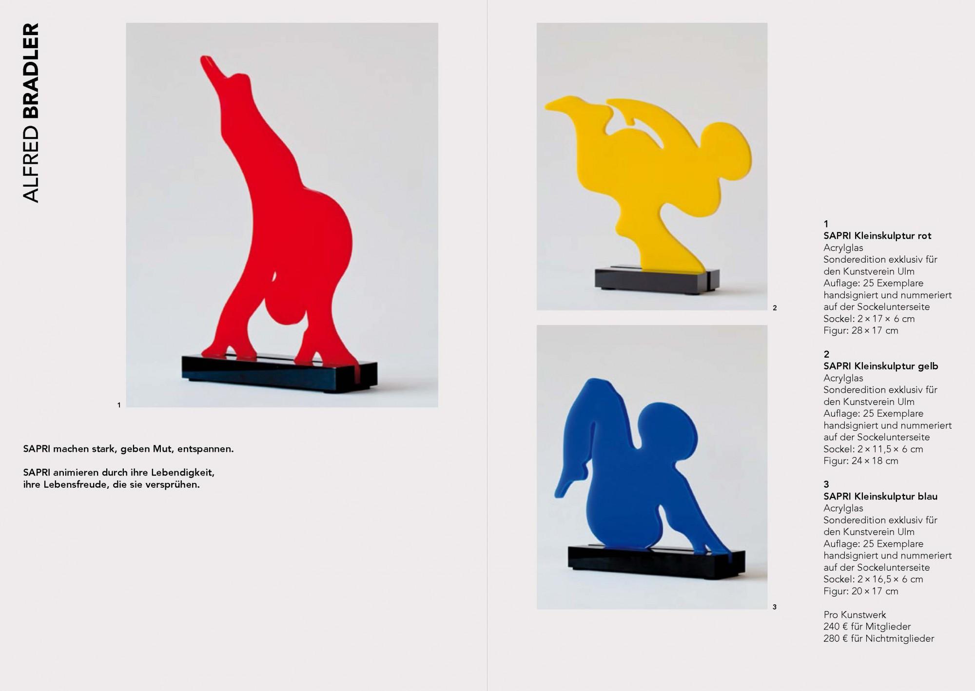 Jahresgabenkatalog 2016/17, Kunstverein Ulm e.V.