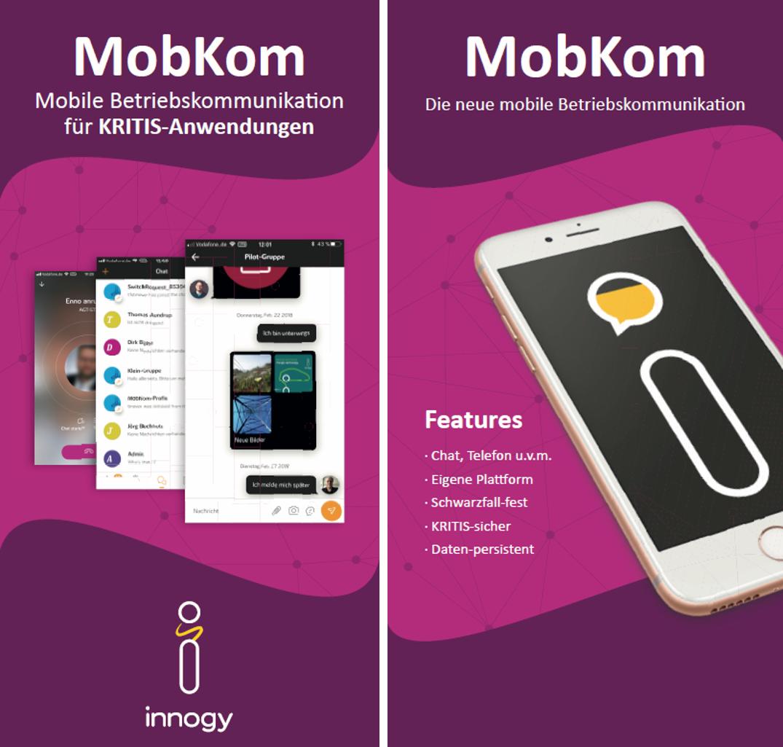 Interne Präsentation der neuen, mobilen Betriebskommunikation